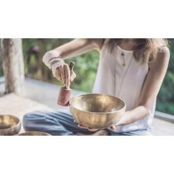 Om Meditation Singing Bowl - SEHF